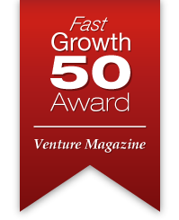 Fast Growth 50 Award, Venture Magazine