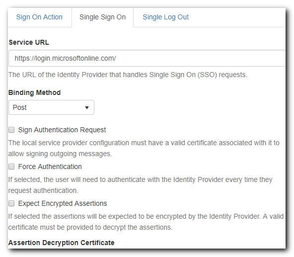 Single sign-on options for Azure