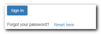 Reset Login Password